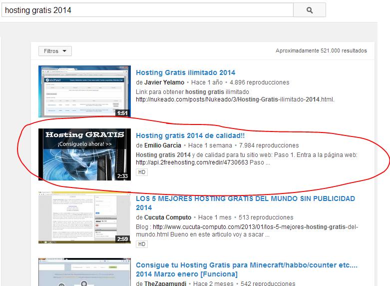 Posicionar Youtube