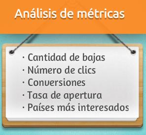 Analisis de metricas