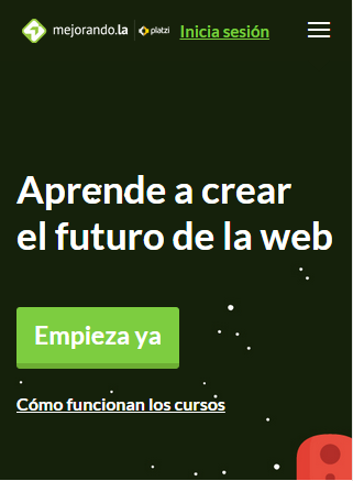 landing page movil