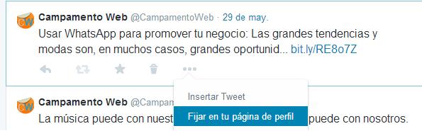 Fijar tweets