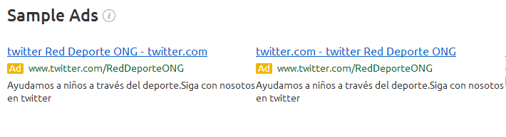 Twitter Adwords