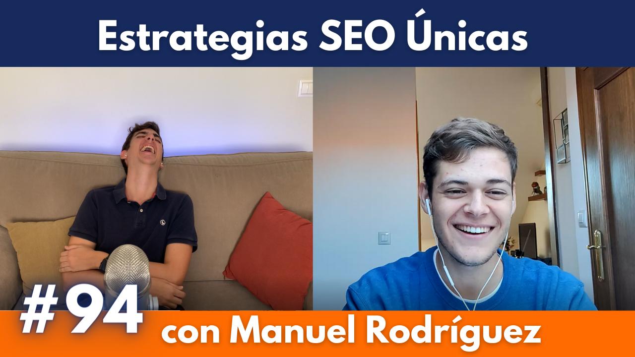 Estrategias SEO Manuel Rodríguez