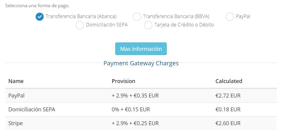 Métodos de pago de Raiola Networks